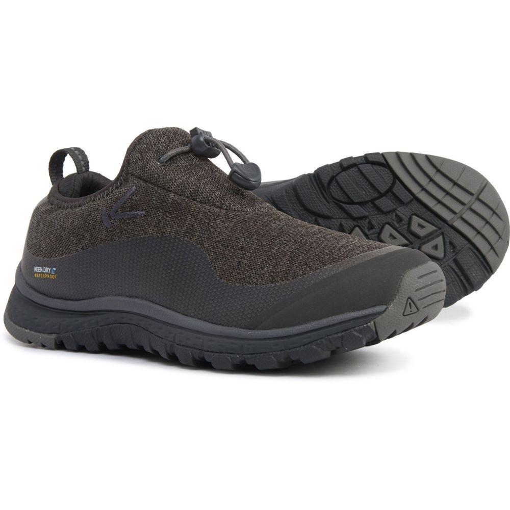 キーン Keen レディース ハイキング・登山 シューズ・靴【Terra Moc Hiking Shoes - Waterproof】Raven/Steel Grey