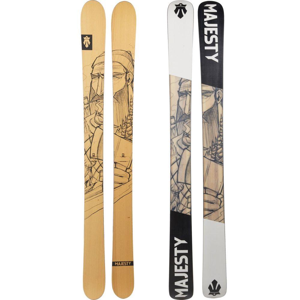 マジェスティスキー ユニセックス スキー・スノーボード ボード・板 See Photo 【サイズ交換無料】 マジェスティスキー Majesty Skis ユニセックス スキー・スノーボード ボード・板【Lumberjack Alpine Skis - 185cm】See Photo