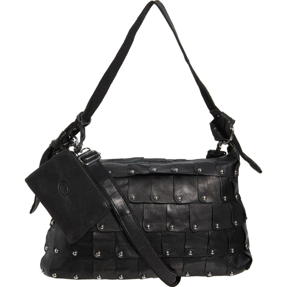 アメリレザー Amerileather レディース ハンドバッグ バッグ【Miao Handbag - Leather】Black