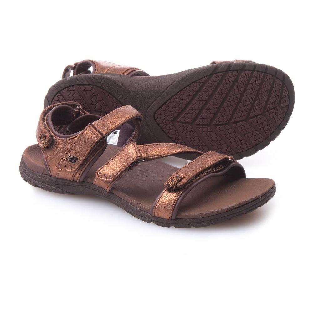 ニューバランス New Balance レディース サンダル・ミュール スポーツサンダル シューズ・靴【Maya Sport Sandals - Leather】Bronze