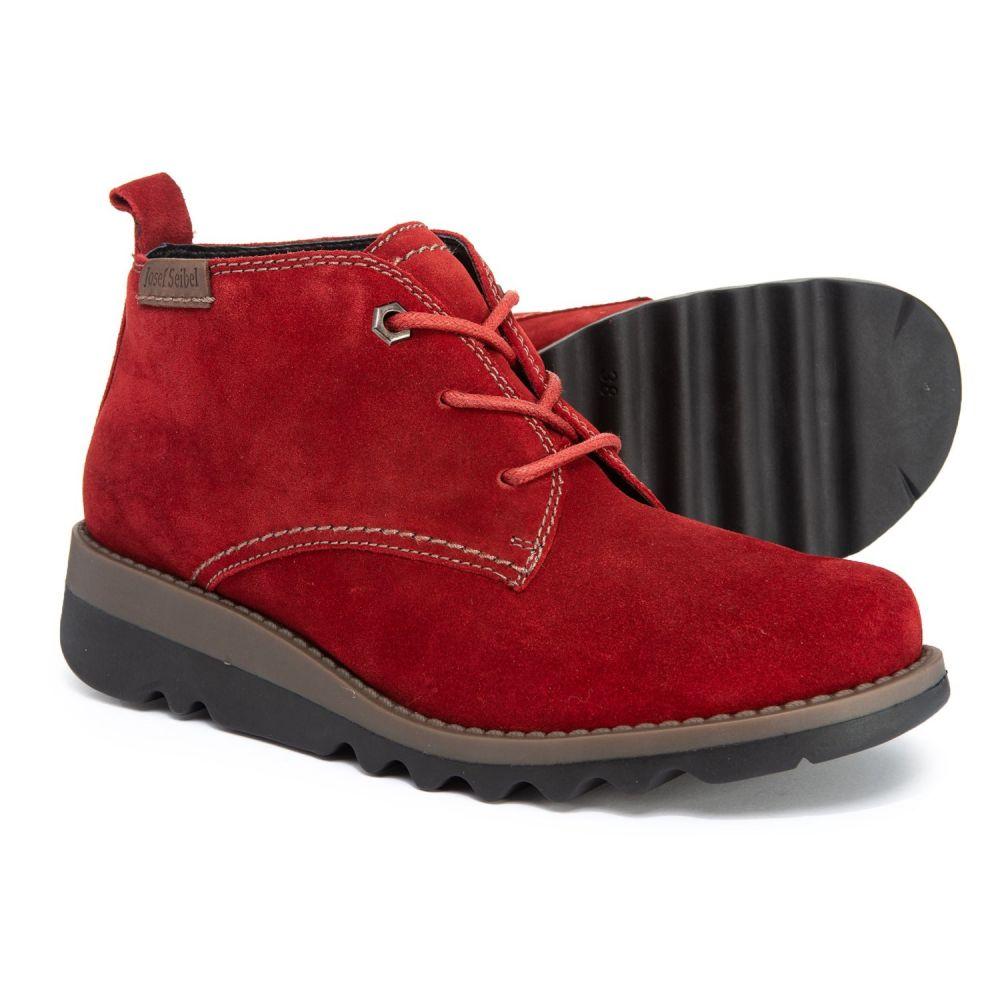 ジョセフセイベル Josef Seibel レディース ブーツ チャッカブーツ シューズ・靴【Lina 07 Chukka Boots】Red Kombi Canyon