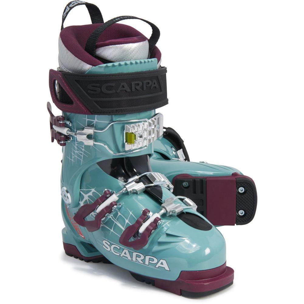 スカルパ Scarpa レディース スキー・スノーボード アルペンスキー シューズ・靴【Made in Italy Freedom Alpine Ski Boots】Mineral Blue/Purple