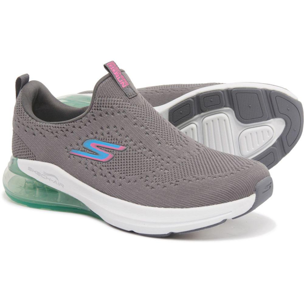 スケッチャーズ Skechers レディース フィットネス・トレーニング シューズ・靴【GOrun Air Halos Training Shoes - Slip-Ons】Charcoal/Blue