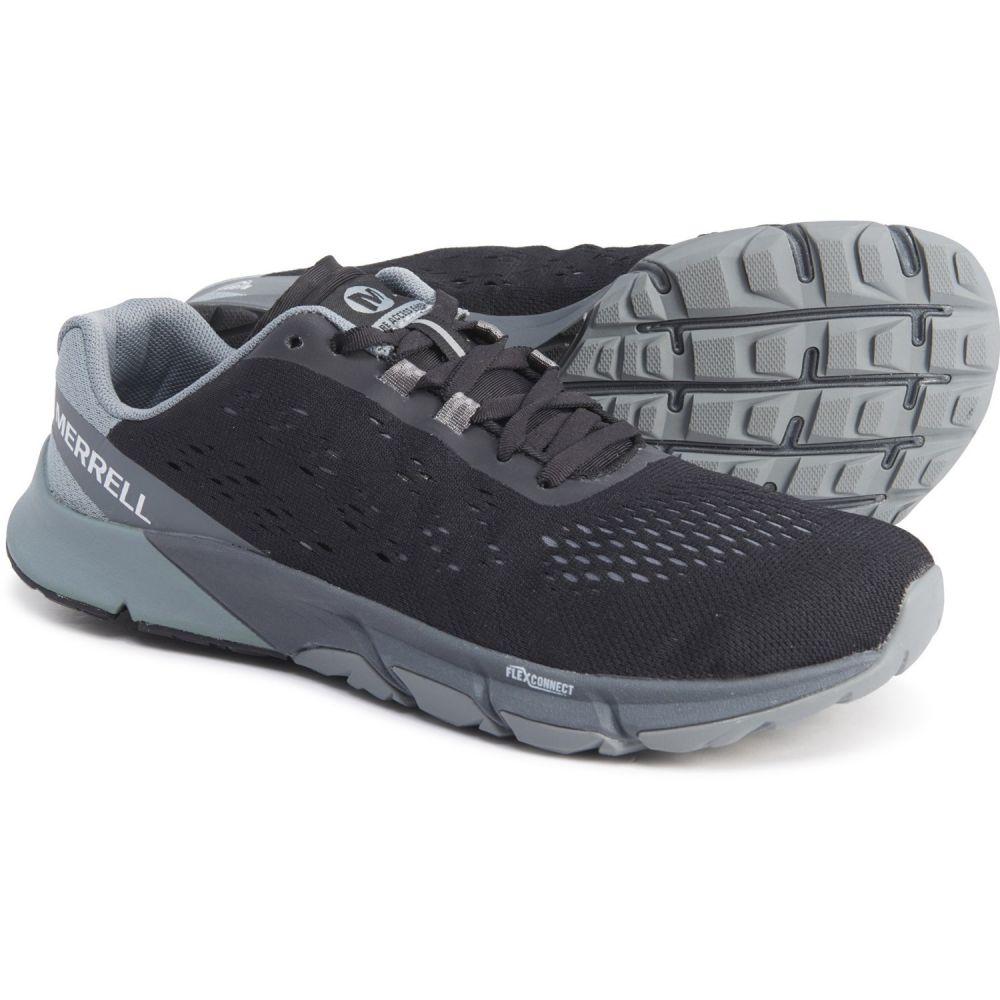 メレル Merrell レディース ランニング・ウォーキング シューズ・靴【Black Bare Access Flex Shield 2 Trail Running Shoes】Black