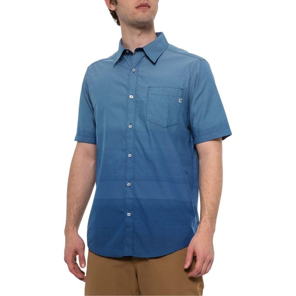 マーモット Marmot メンズ 半袖シャツ トップス【Lanton Shirt - Short Sleeve】Vintage Navy
