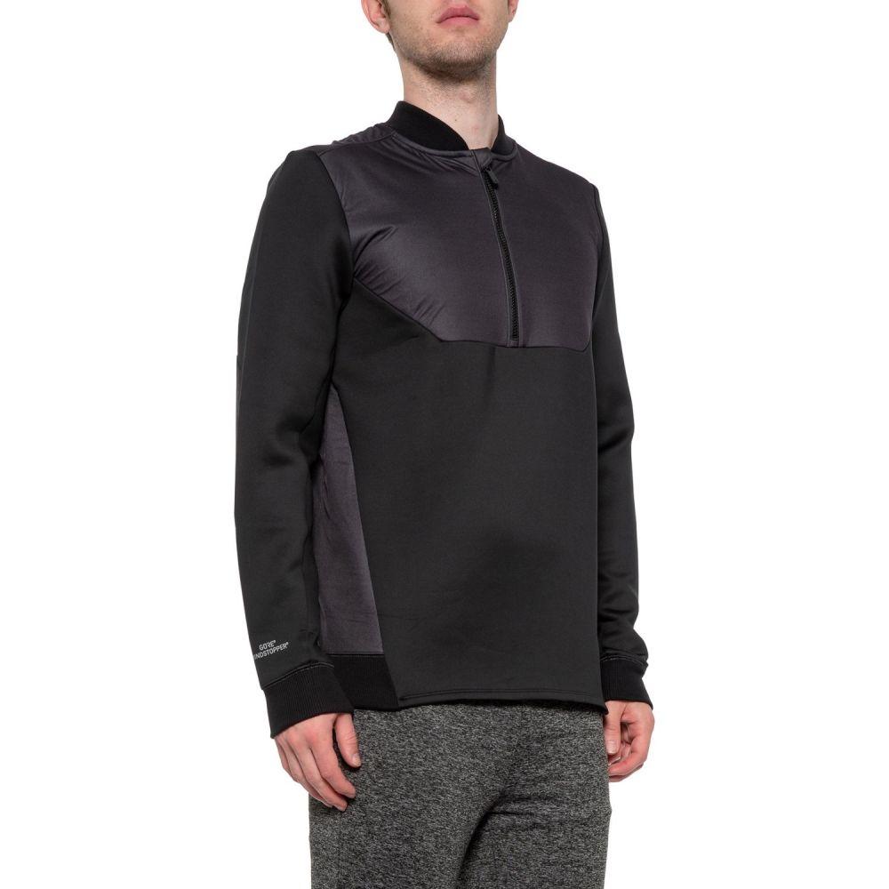 アンダーアーマー Under Armour メンズ ジャケット アウター【Unstoppable Windstopper Jacket - Zip Neck】Black