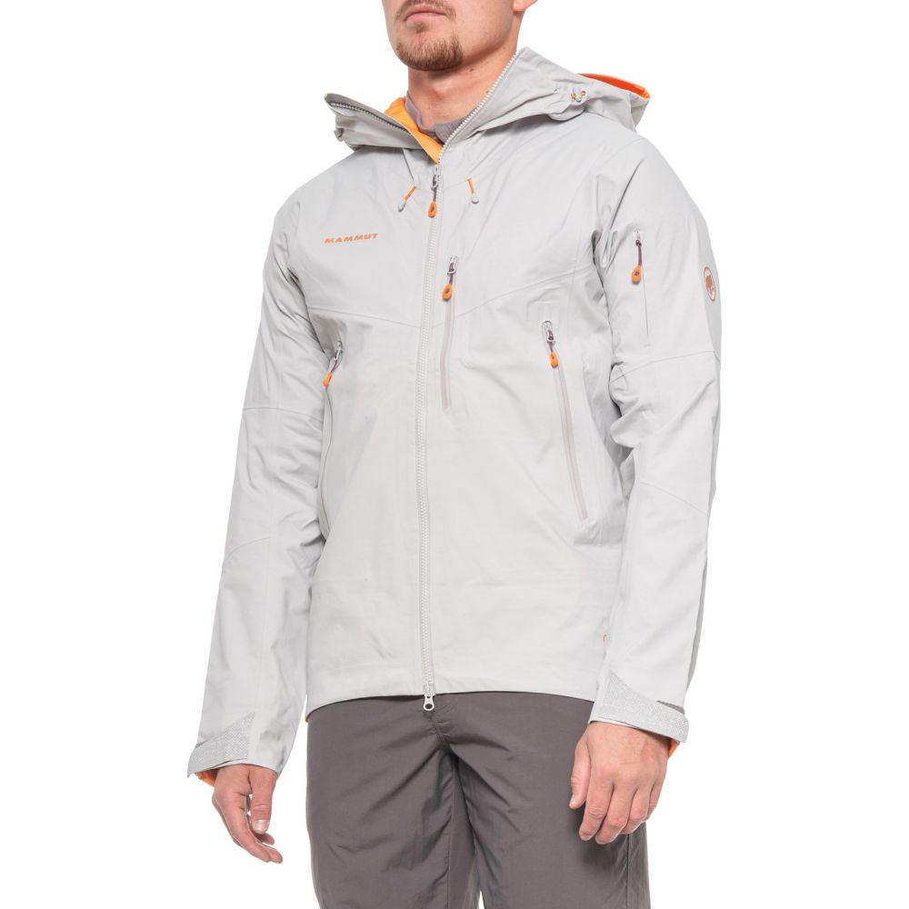 マムート Mammut メンズ スキー・スノーボード フード シェルジャケット ジャケット アウター【Nordwand Gore-Tex Pro Hard Shell Hooded Ski Jacket - Waterproof】Marble
