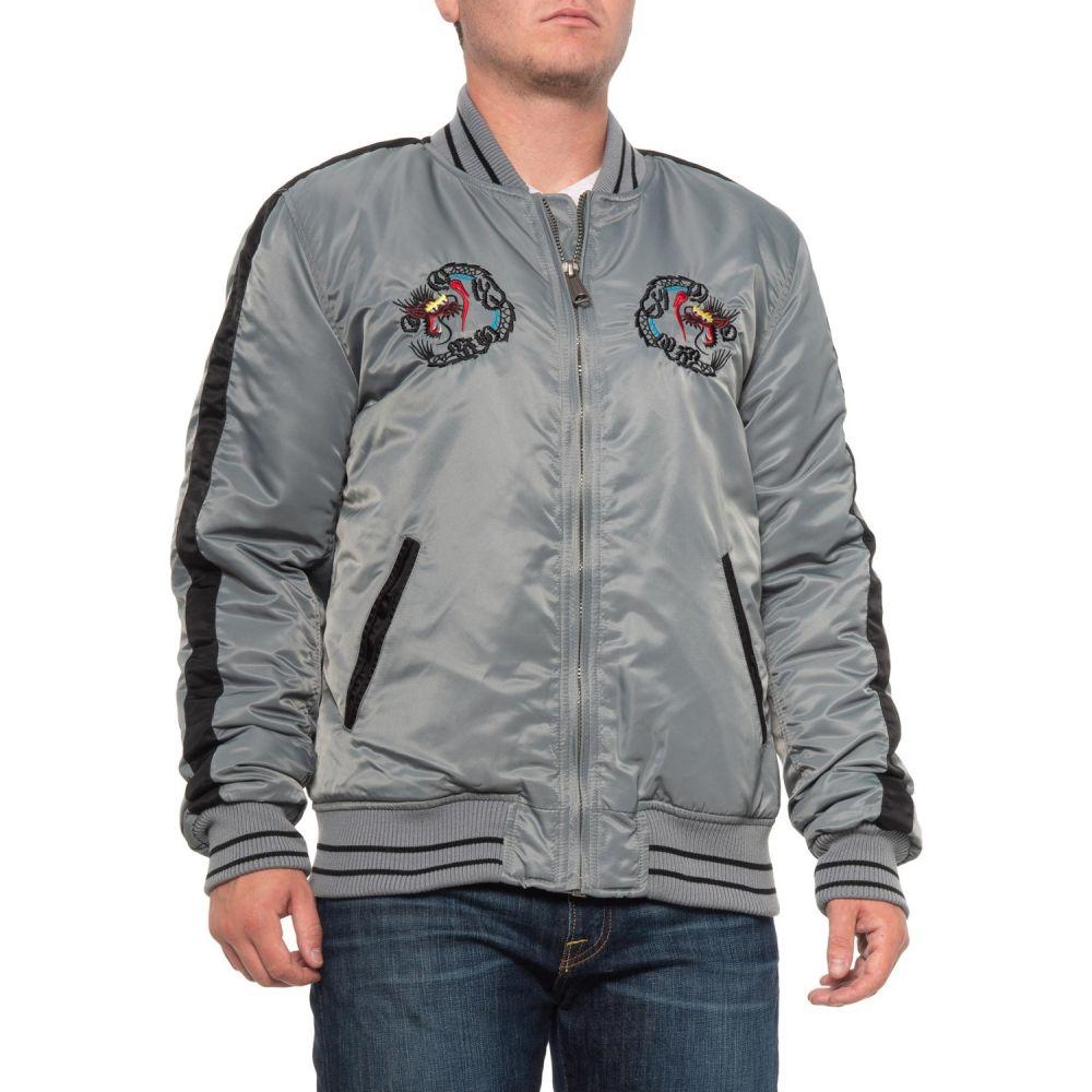 ショット ニューヨーク Schott NYC メンズ ジャケット アウター【Nylon Tour Jacket - Insulated】Grey