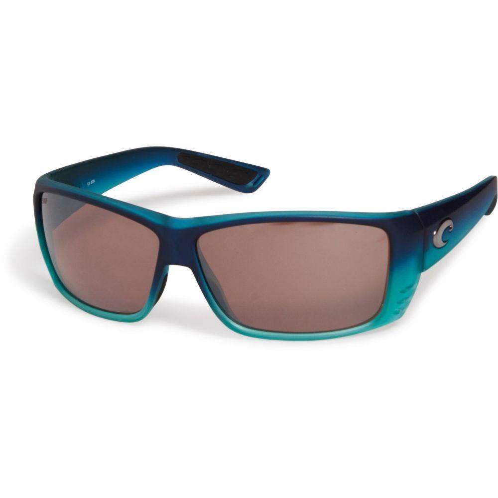 コスタ Costa メンズ メガネ・サングラス 【Cat Cay Sunglasses - Polarized 580P Mirror Lenses】Matte Caribbean Fade/Silver
