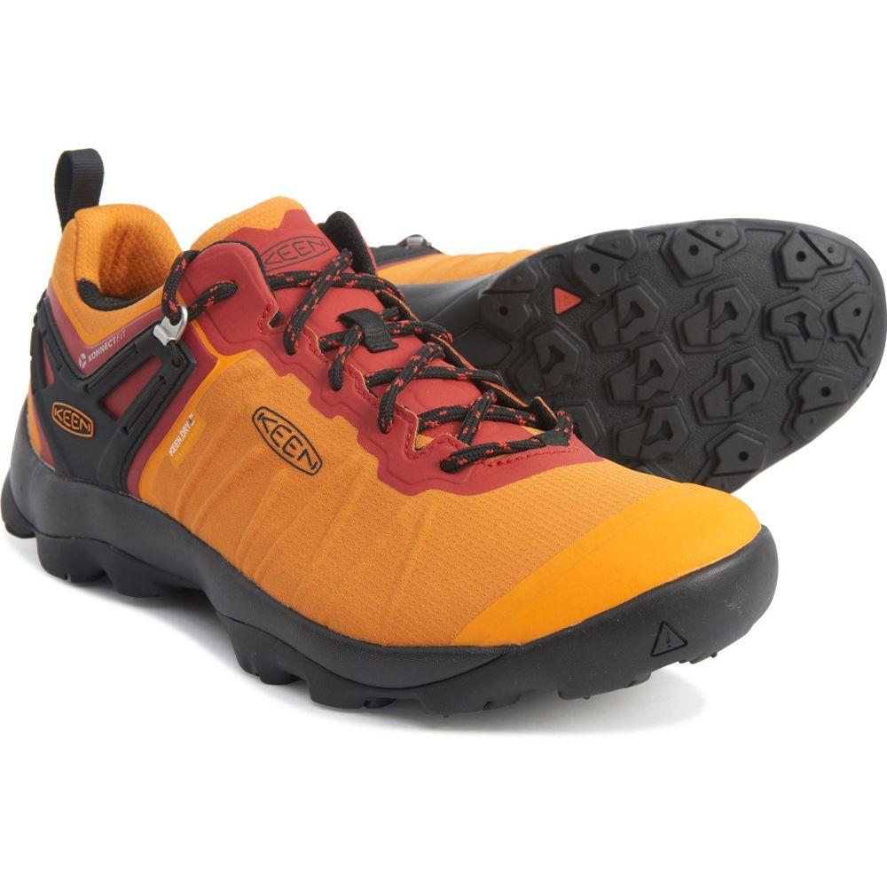 キーン Keen メンズ ハイキング・登山 シューズ・靴【Venture Hiking Shoes - Waterproof】Dark Cheddar/Raven