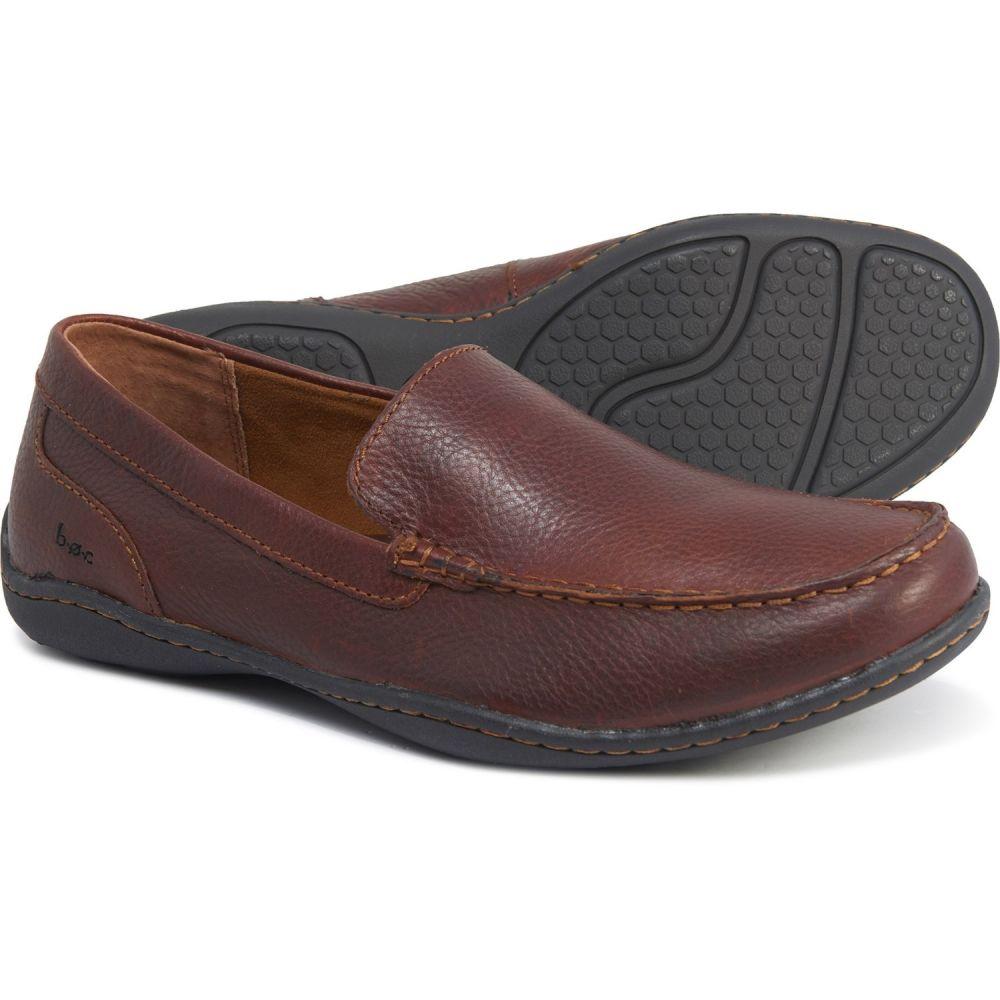 ビーオーシー b.o.c メンズ スリッポン・フラット シューズ・靴【Merton Moccasins - Leather】French Roast