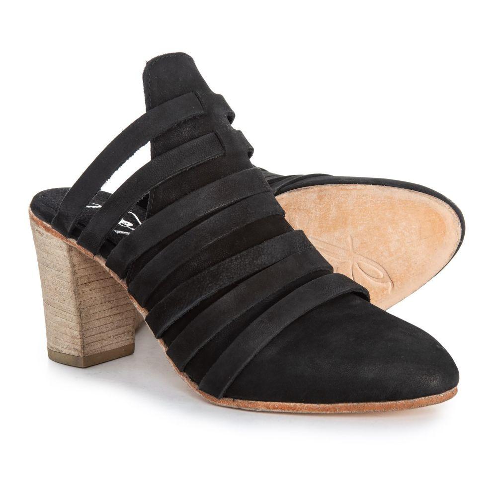 フリーピープル Free People レディース サンダル・ミュール シューズ・靴【Byron Mule Shoes - Suede】Black