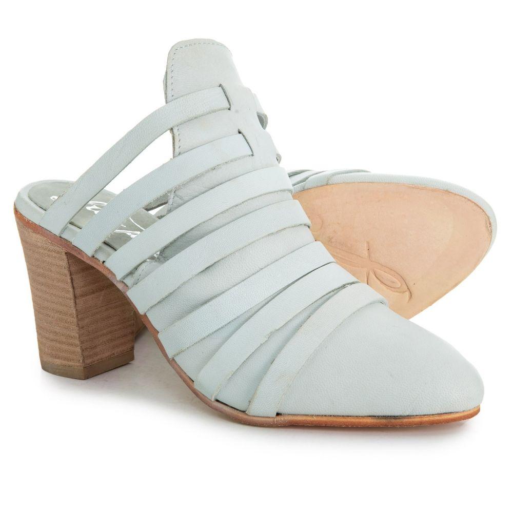 フリーピープル Free People レディース サンダル・ミュール シューズ・靴【Byron Mule Shoes - Suede】White