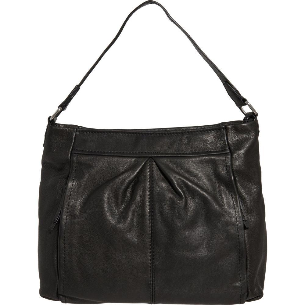 アメリカン レザー American Leather Co. レディース ハンドバッグ バッグ【Missouri Slouchy Hobo Bag - Leather】Black