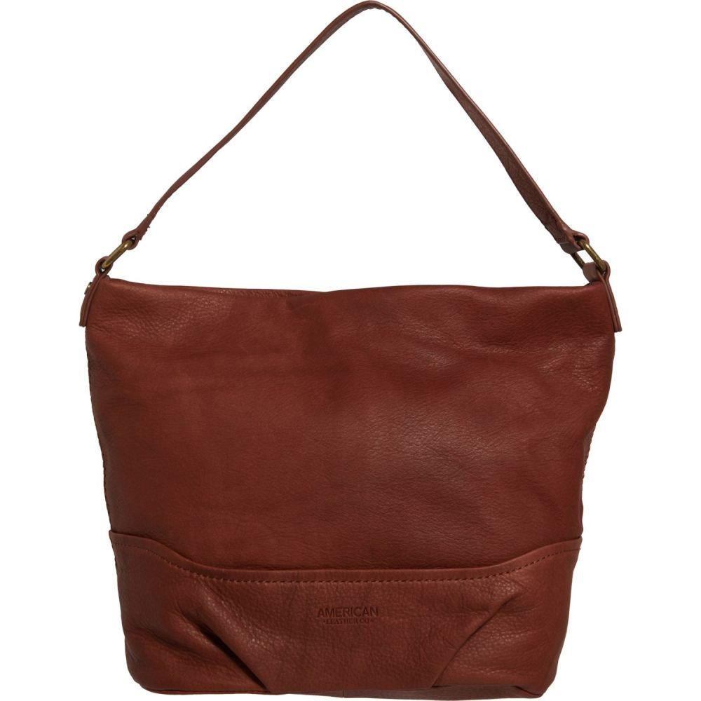 アメリカン レザー American Leather Co. レディース ハンドバッグ バッグ【Yosemite Slouchy Hobo Bag - Leather】Brandy