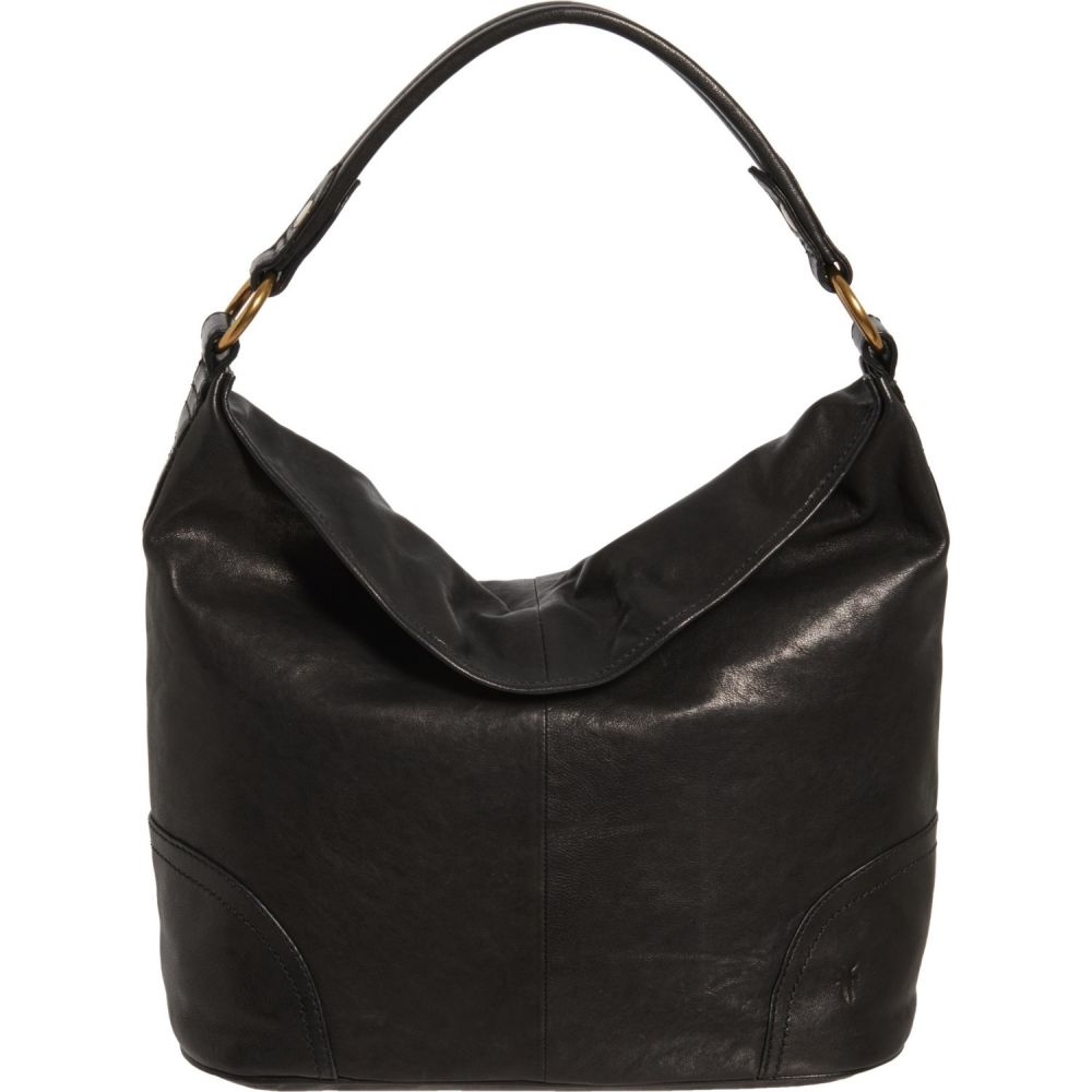 フライ Frye レディース ハンドバッグ バッグ【Madison Hobo Bag - Leather】Black