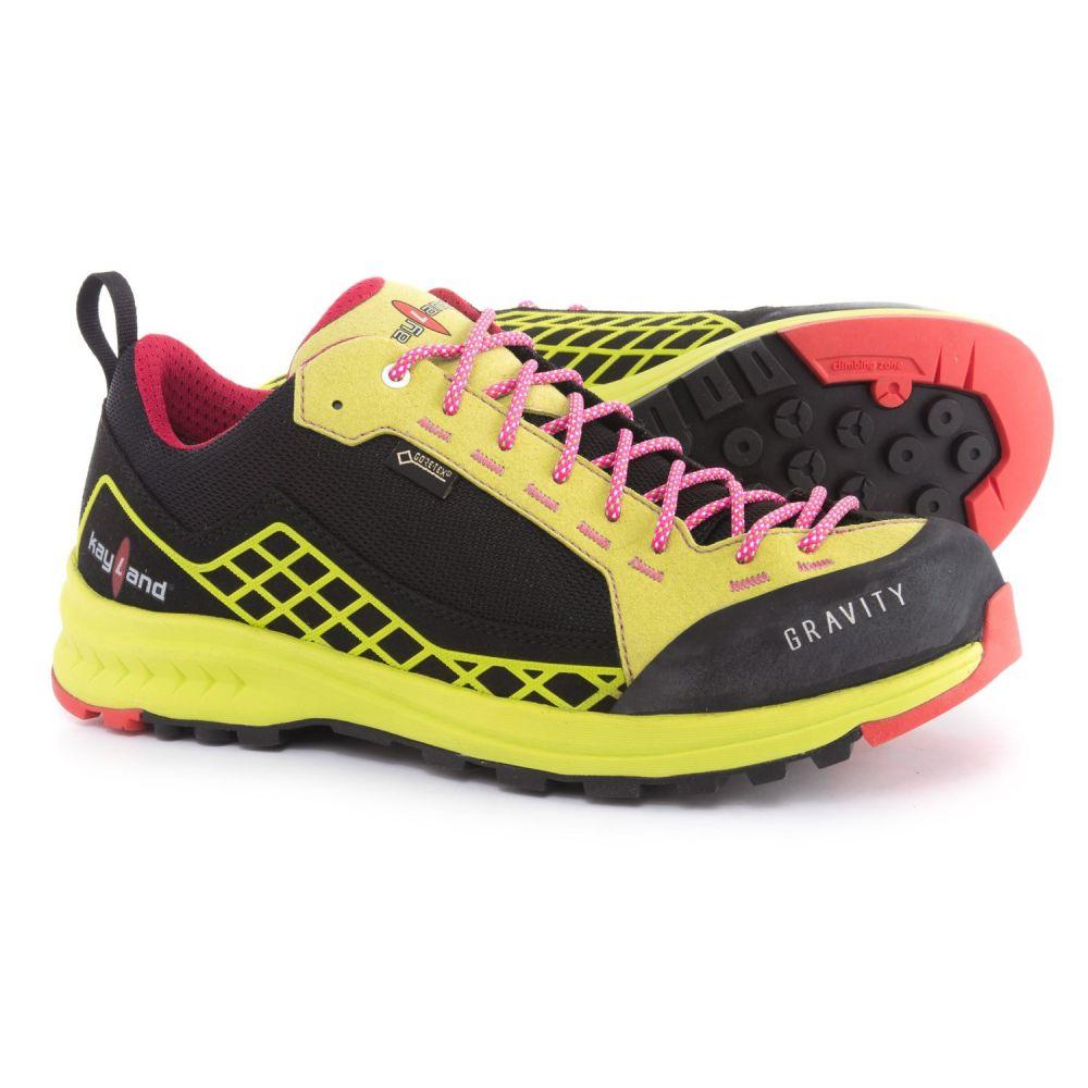 ケイランド Kayland レディース ハイキング・登山 シューズ・靴【Gravity Gore-Tex Hiking Shoes - Waterproof】Black/Lime