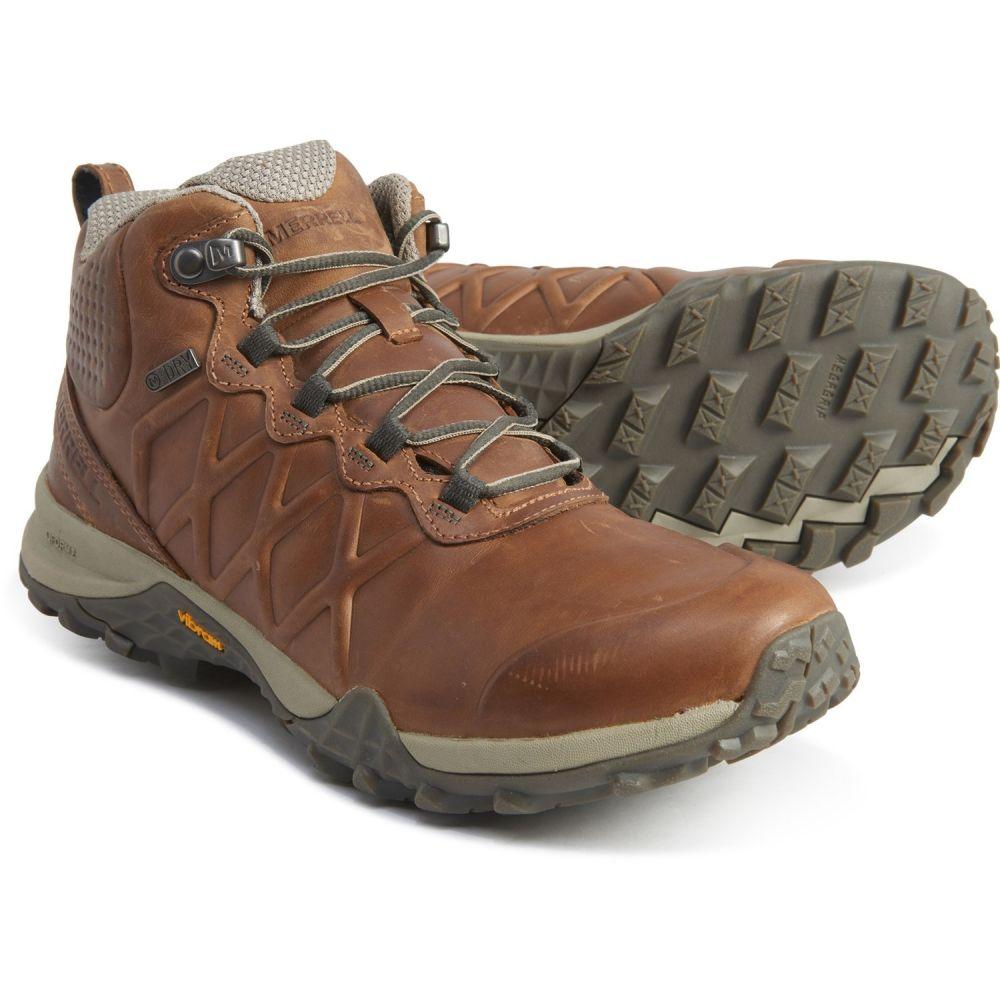 メレル Merrell レディース ハイキング・登山 ブーツ シューズ・靴【Siren 3 Peak Mid Hiking Boots - Waterproof】Earth