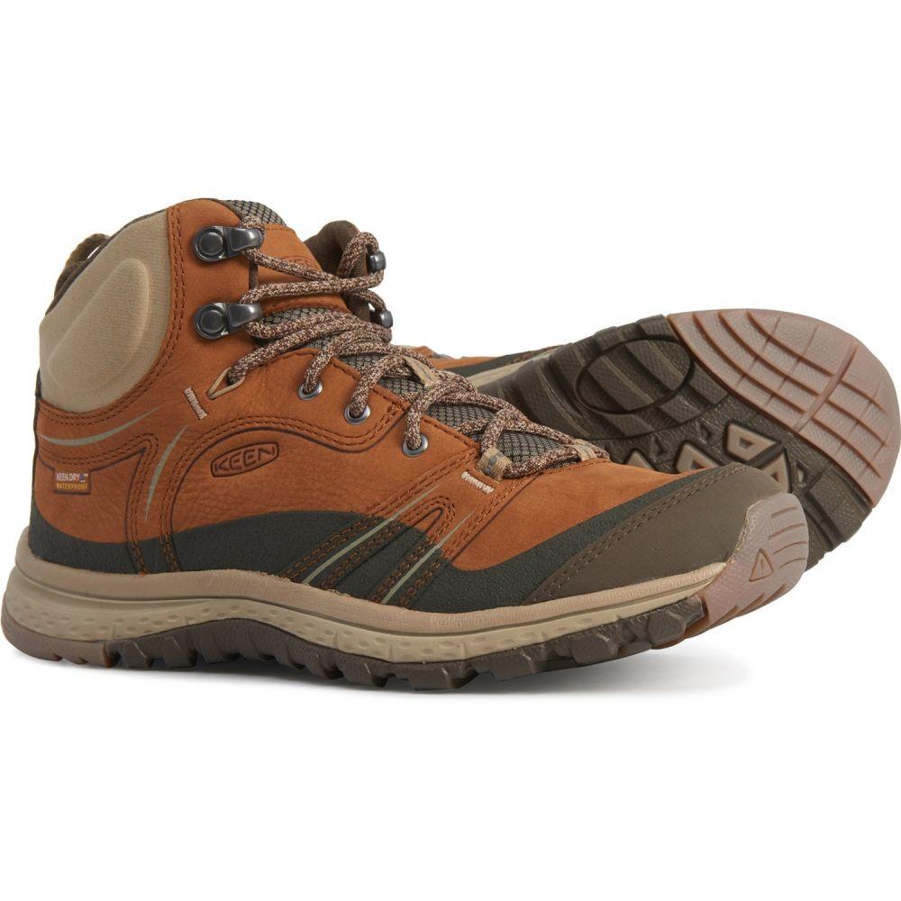 キーン Keen レディース ハイキング・登山 ブーツ シューズ・靴【Terradora Mid Hiking Boots - Waterproof, Leather】Timber/Cornstalk