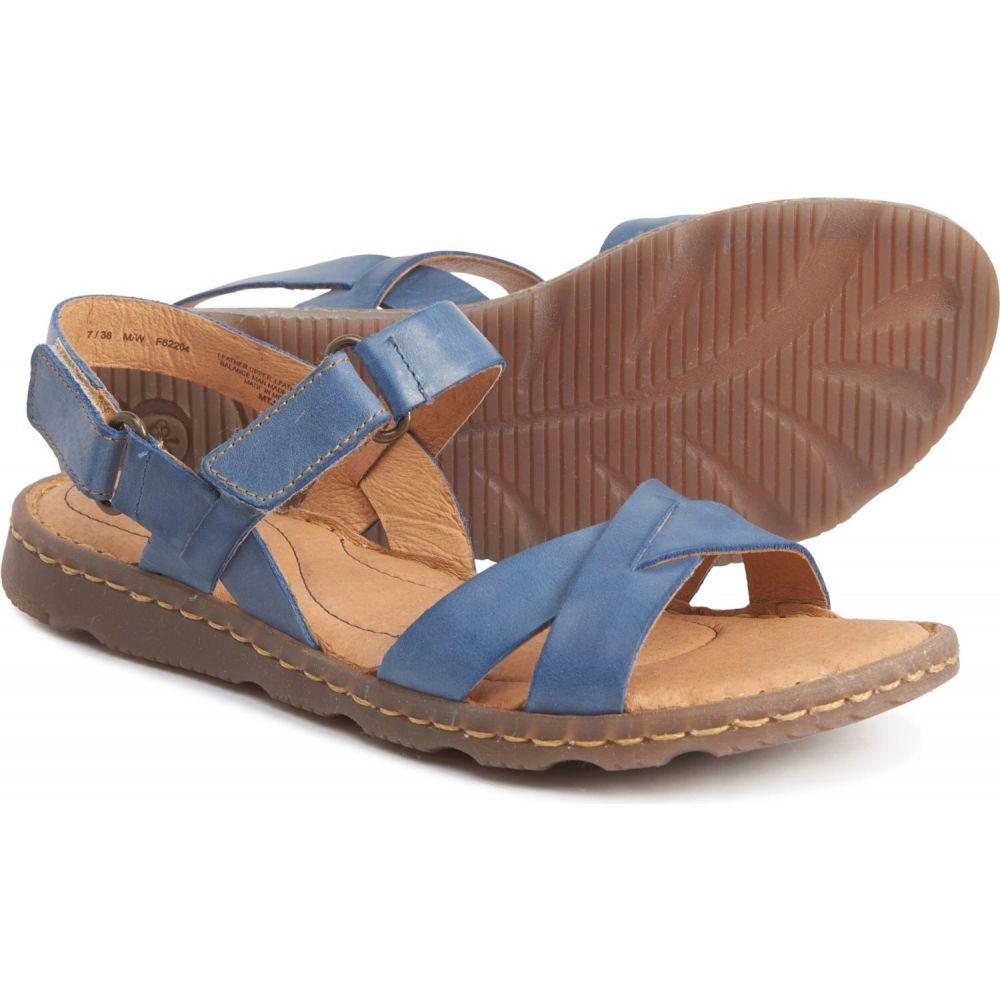 ボーン Born レディース サンダル・ミュール シューズ・靴【jemez sandals - leather】Blue