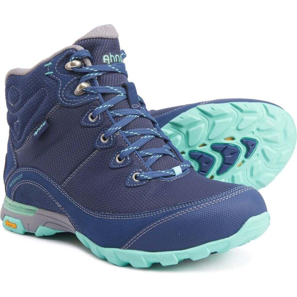 テバ Ahnu by Teva レディース ハイキング・登山 ブーツ シューズ・靴【sugarpine ii ripstop hiking boots - waterproof】Insignia Blue