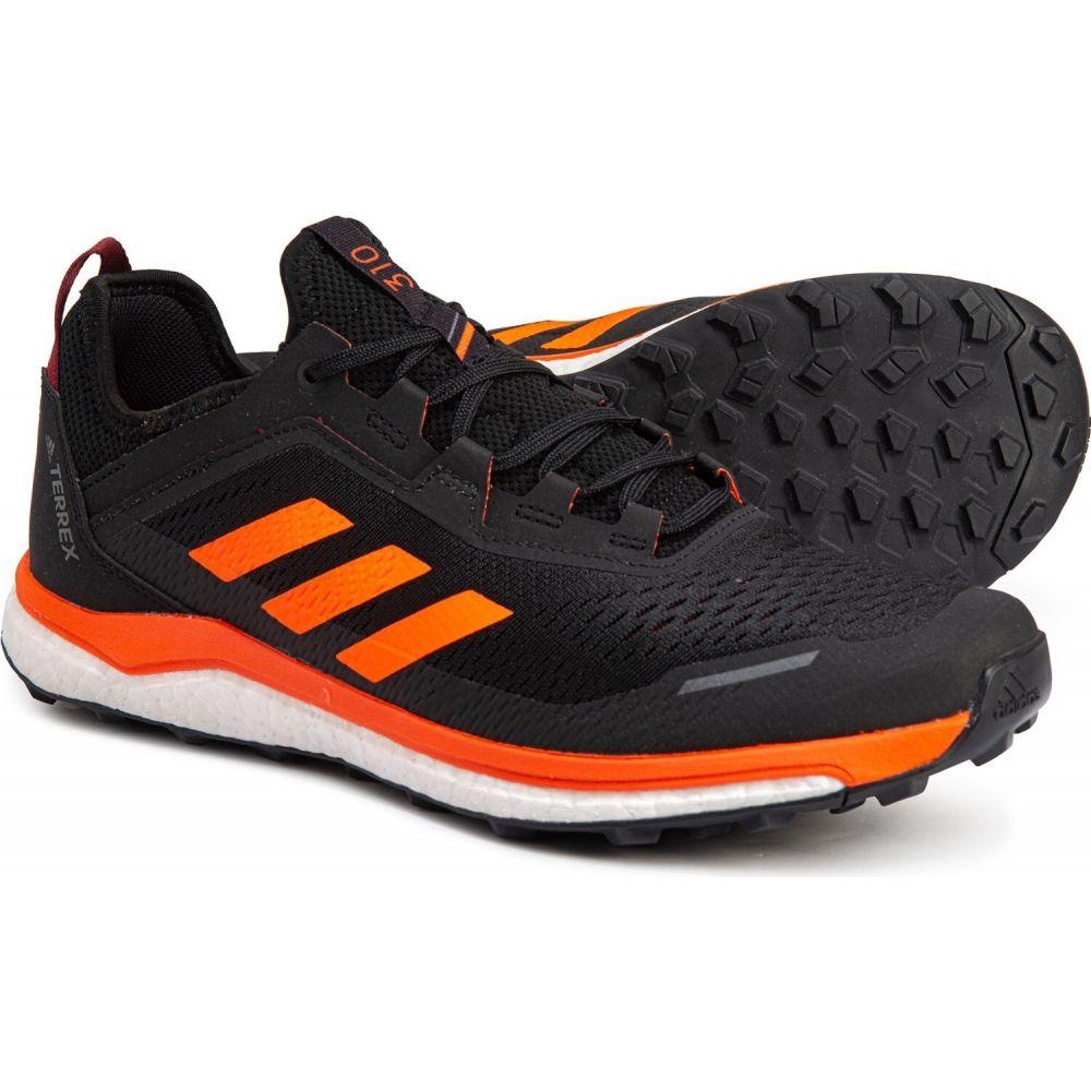 アディダス adidas outdoor メンズ ランニング・ウォーキング シューズ・靴【terrex agravic flow trail running shoes】Collegiate Burgundy/Solar Orange/Black