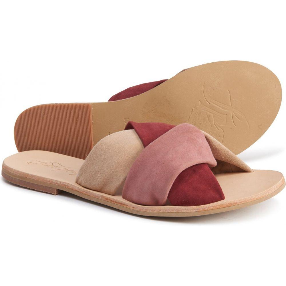フリーピープル Free People レディース サンダル・ミュール シューズ・靴【rio vista slide sandals - leather】Rose