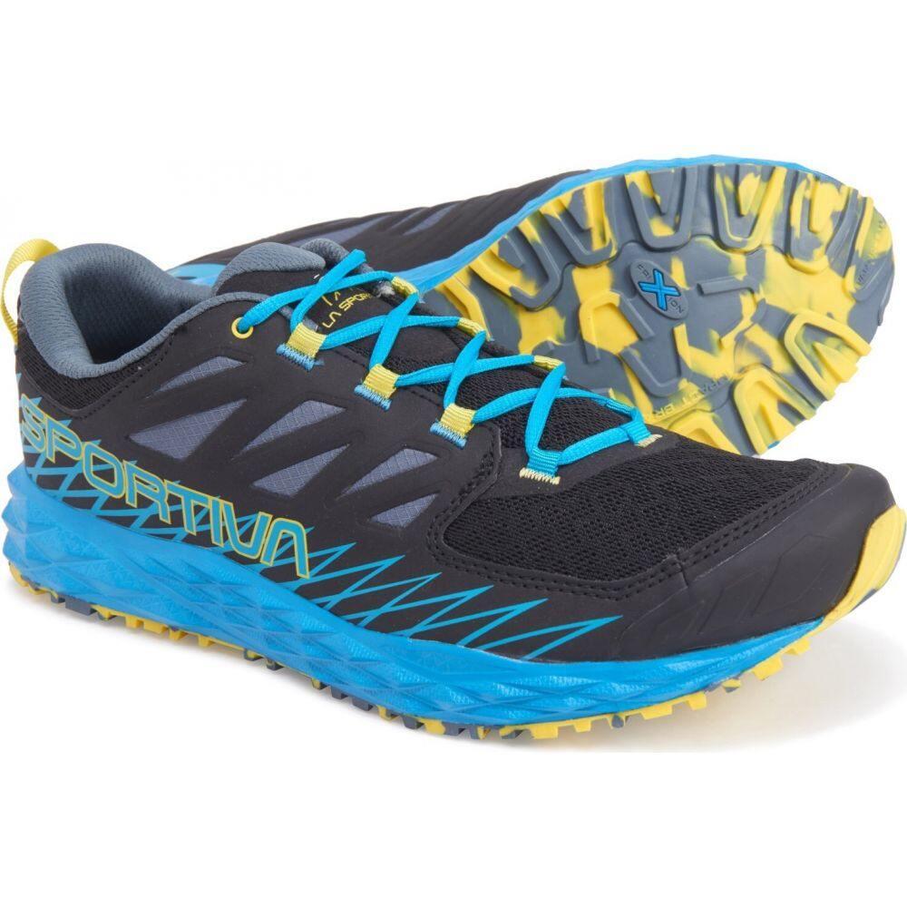 ラスポルティバ La Sportiva メンズ ランニング・ウォーキング シューズ・靴【lycan trail running shoes】Black/Tropic Blue