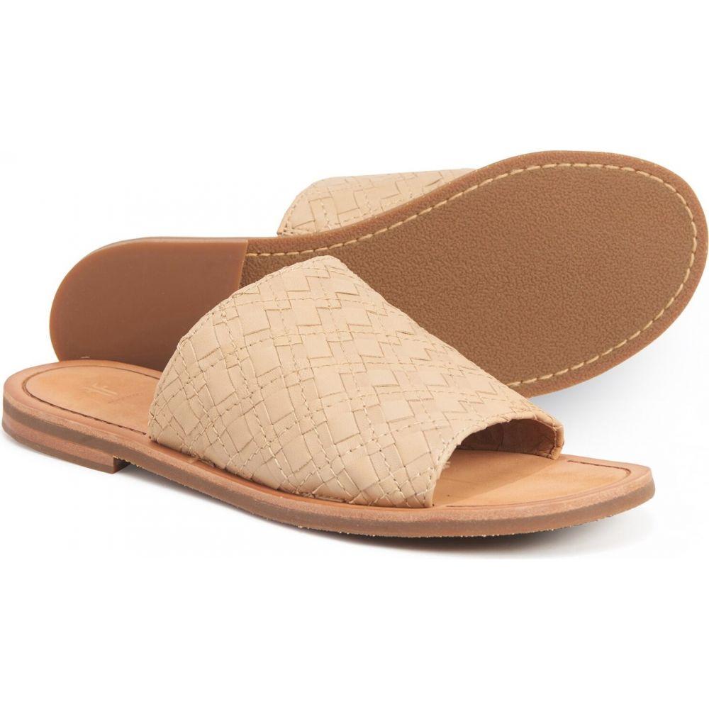 フライ Frye レディース サンダル・ミュール シューズ・靴【robin woven slide sandals - leather】Cream