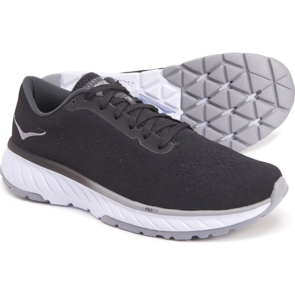 ホカ オネオネ Hoka One One レディース ランニング・ウォーキング シューズ・靴【cavu 2 running shoes】Black/White
