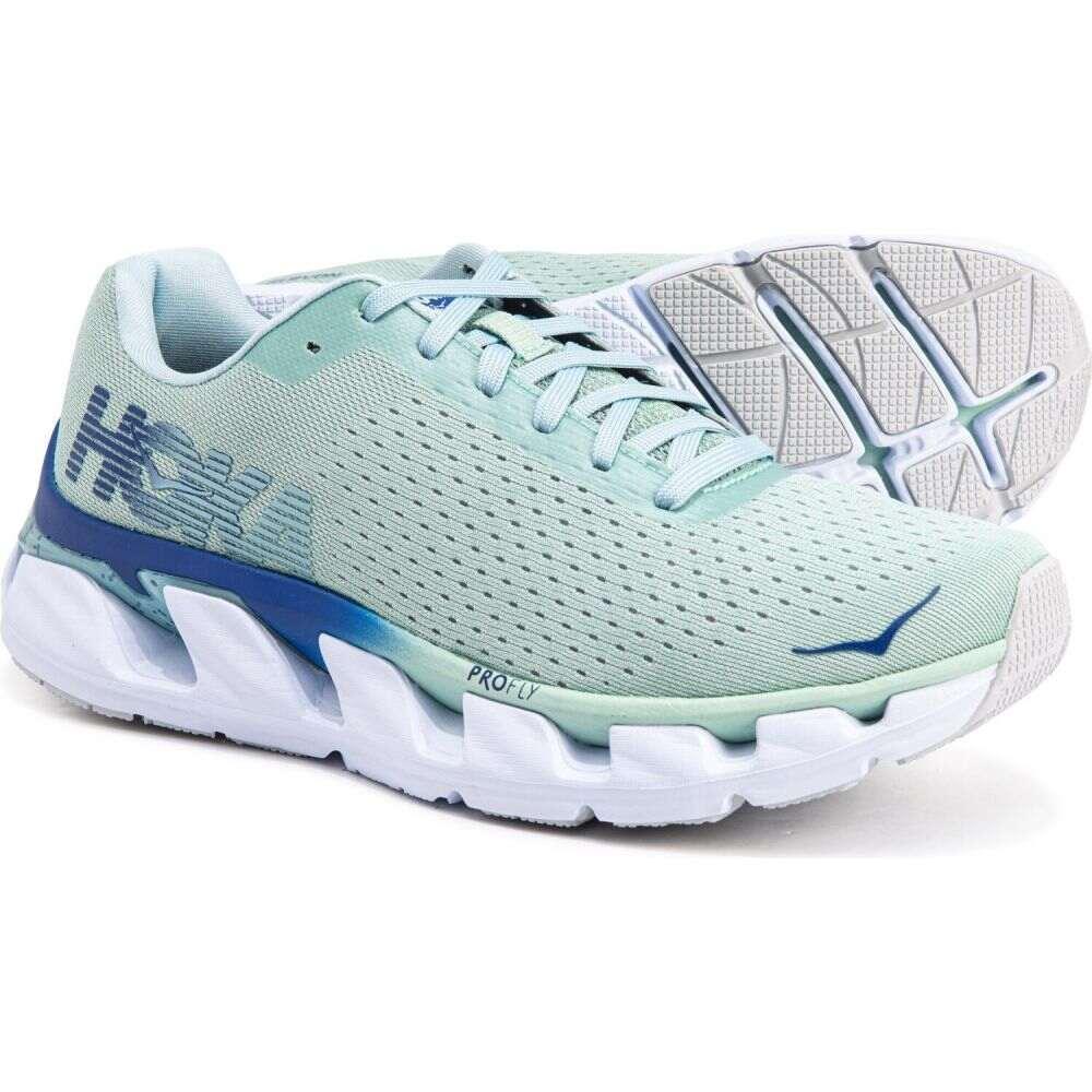 ホカ オネオネ Hoka One One レディース ランニング・ウォーキング シューズ・靴【elevon running shoes】Lichen/Sodalite Blue