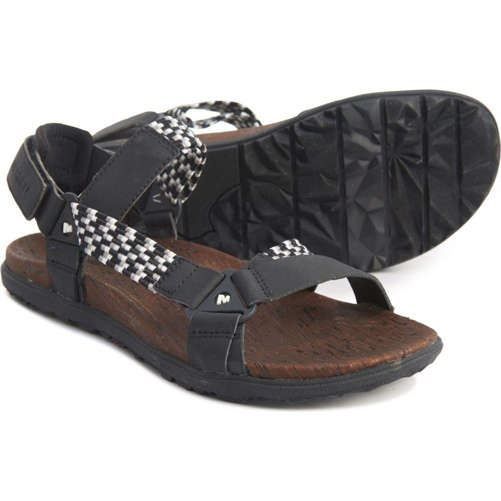 メレル Merrell レディース サンダル・ミュール シューズ・靴【around town sunvue woven sandals】Black