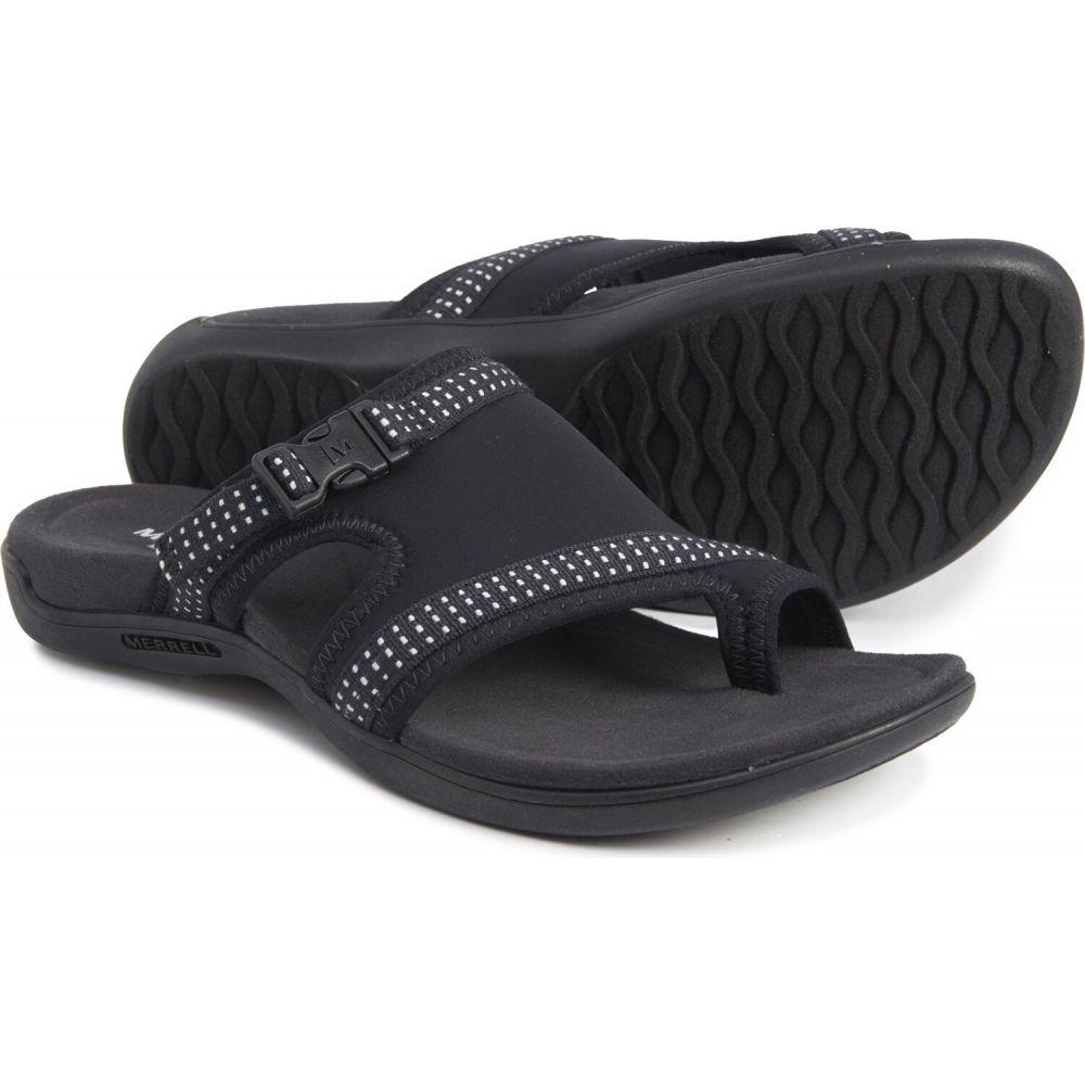 メレル Merrell レディース サンダル・ミュール バックストラップ スポーツサンダル シューズ・靴【district muri backstrap sport sandals】Black