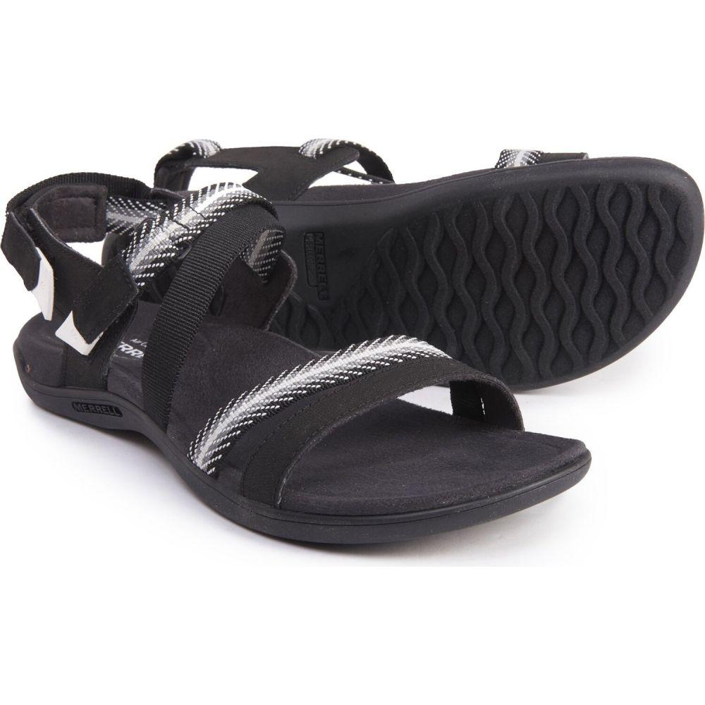 メレル Merrell レディース サンダル・ミュール バックストラップ スポーツサンダル シューズ・靴【district mendi backstrap sport sandals】Black