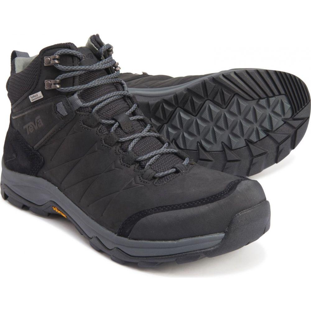 テバ Teva メンズ ハイキング・登山 ブーツ シューズ・靴【Arrowood Riva Mid Hiking Boots - Waterproof, Leather】Black