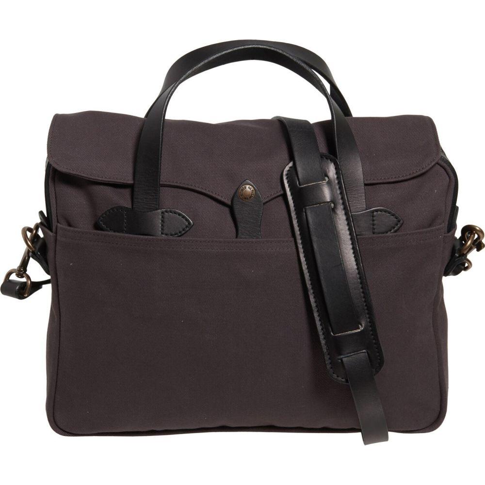 フィルソン Filson メンズ ビジネスバッグ・ブリーフケース バッグ【Original Briefcase - 12.5x16x4】Cinder