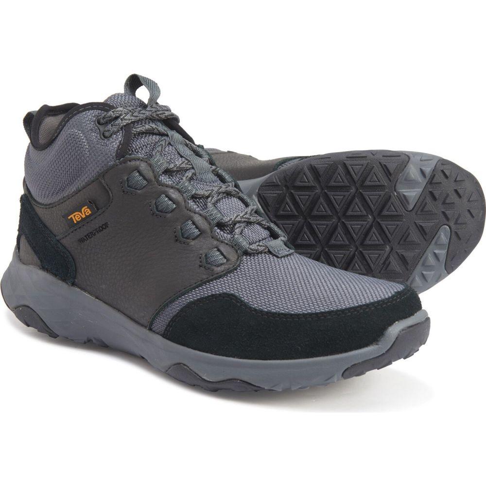テバ Teva メンズ ハイキング・登山 ブーツ シューズ・靴【Arrowood Riva Mid Hiking Boots - Waterproof】Black