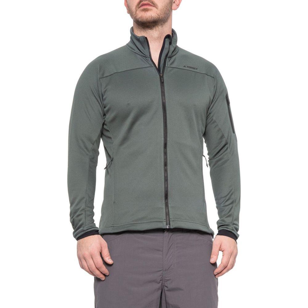 アディダス adidas outdoor メンズ フリース トップス【Stockhorn Fleece Jacket】Utility Ivy