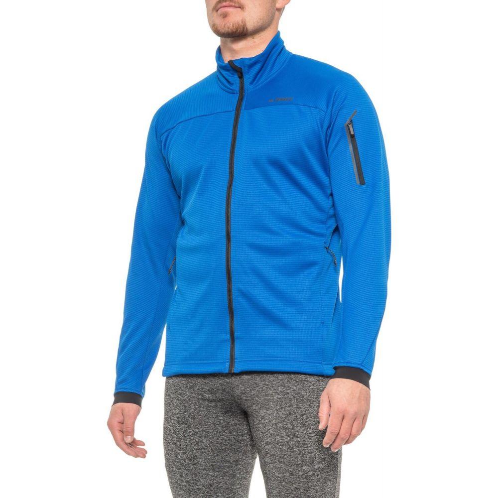 アディダス adidas outdoor メンズ フリース トップス【Stockhorn Fleece Jacket】Blue Beauty