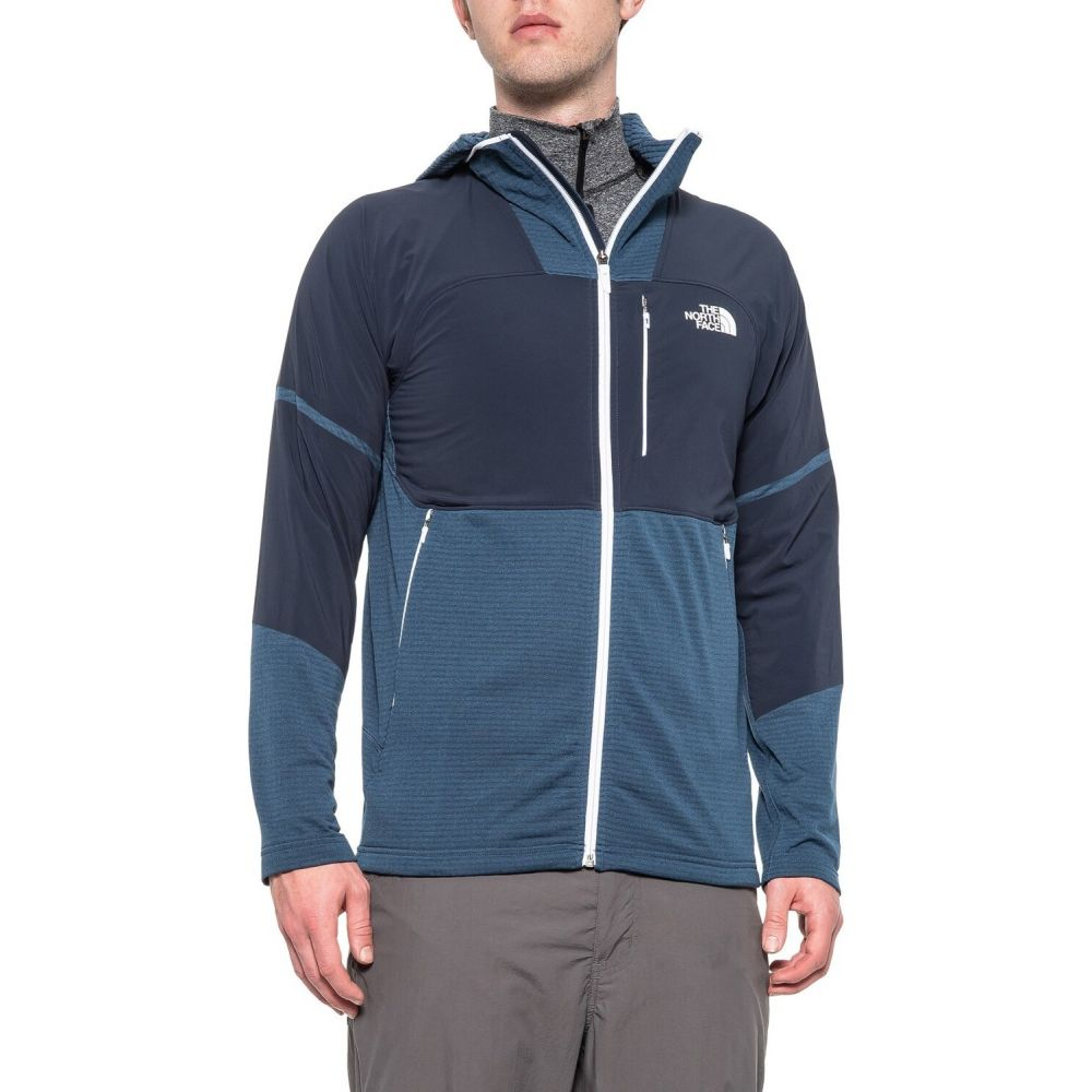 ザ ノースフェイス The North Face メンズ フリース トップス【Progressor Polartec Power Grid Fleece Jacket】Shady Blue/Urban Navy
