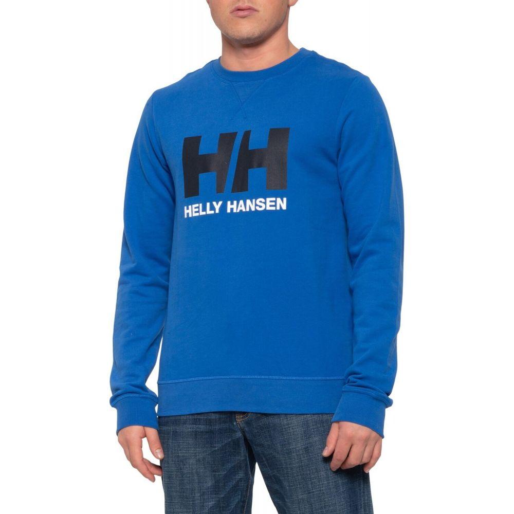 ヘリーハンセン Helly Hansen メンズ スウェット・トレーナー トップス【Logo Crew Sweatshirt】Olympian Blue