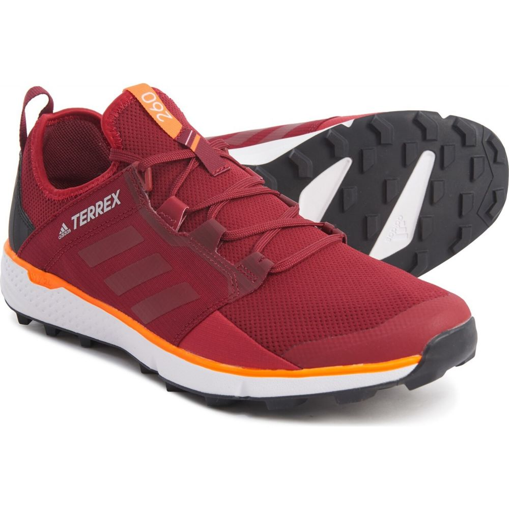 アディダス adidas outdoor メンズ ランニング・ウォーキング シューズ・靴【Terrex Speed LD Trail Running Shoes】Collegiate Burgundy/Active Maroon/Solar Orange