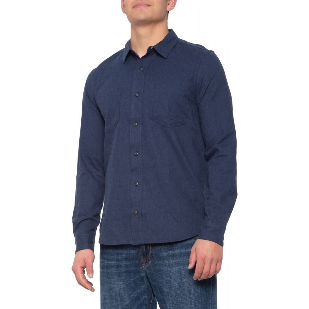 トードアンドコー Toad&Co メンズ シャツ フランネルシャツ トップス【Flannagan Flannel Shirt - Organic Cotton, Long Sleeve】Deep Navy Heather