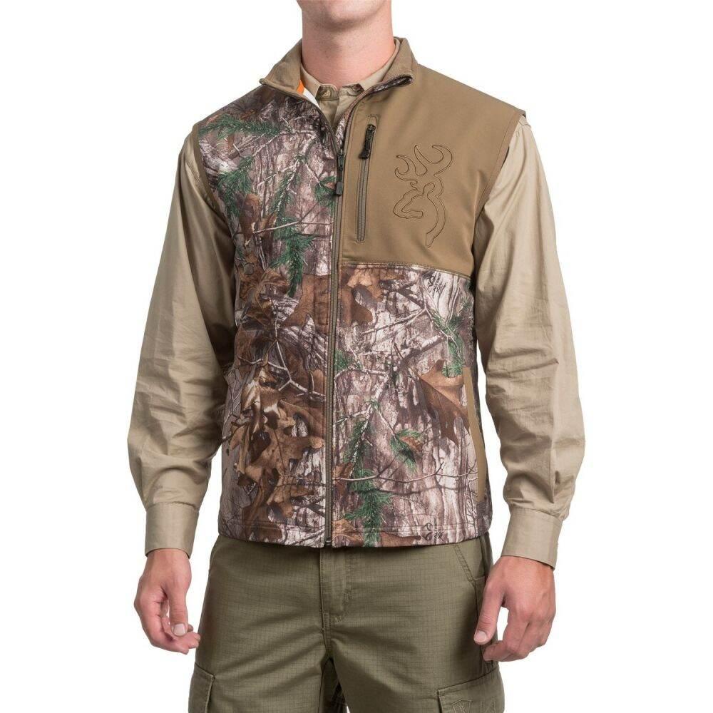 ブローニング Browning メンズ ベスト・ジレ トップス【Mercury Vest】Realtree Xtra