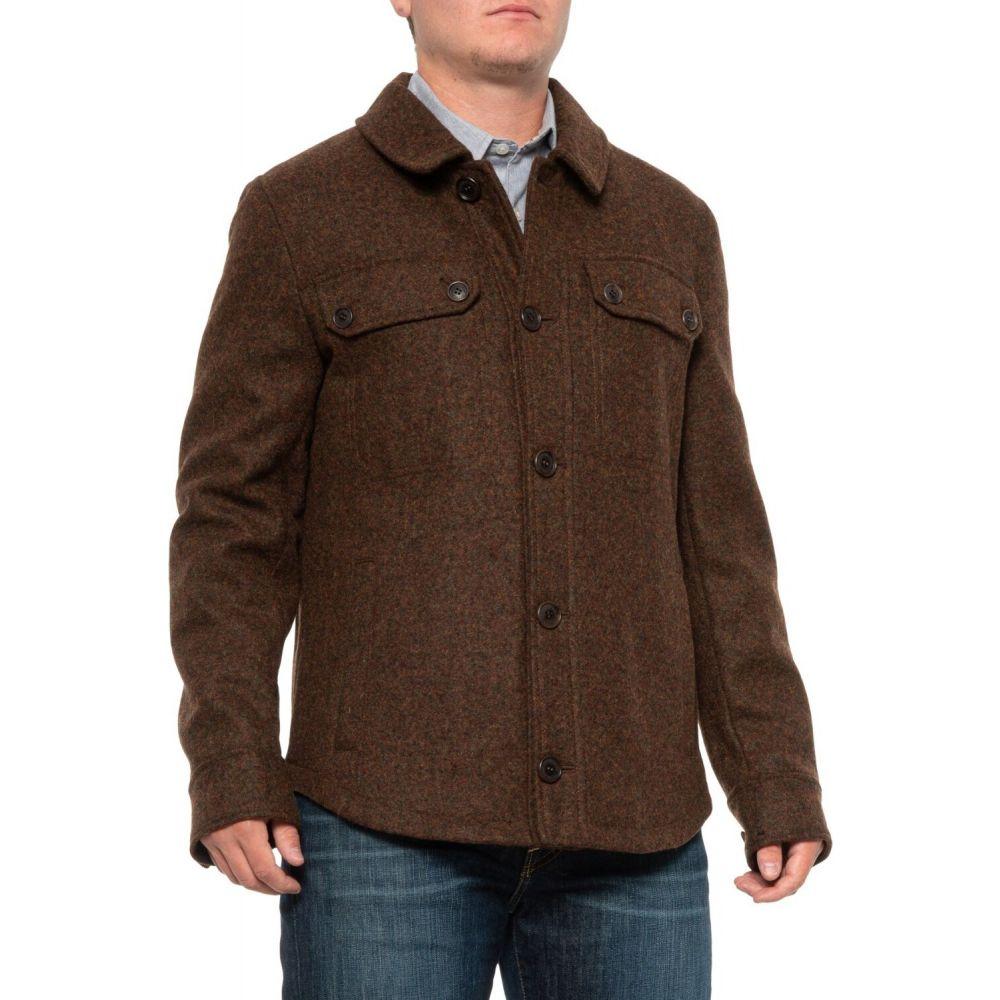 ペンドルトン Pendleton メンズ ジャケット シャツジャケット アウター【Capital Hill Shirt Jacket - Wool Blend】Mahogany