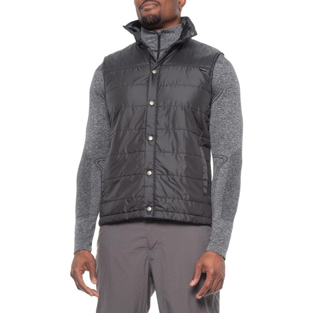 ダックワース DUCKWORTH メンズ ベスト・ジレ トップス【Woolcloud Vest - Insulated】Black