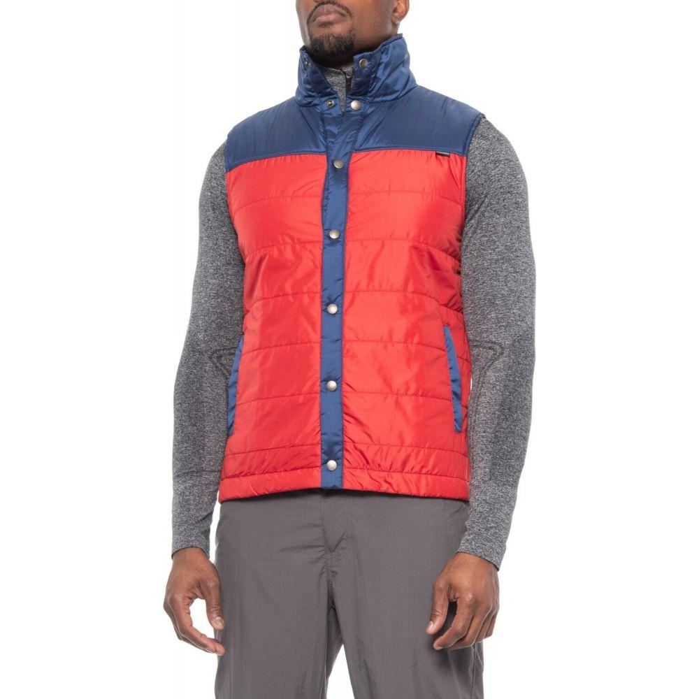 ダックワース DUCKWORTH メンズ ベスト・ジレ トップス【Woolcloud Vest - Insulated】Blue/Red