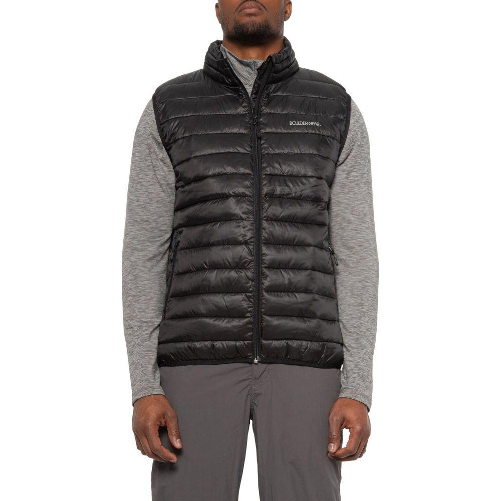 ボルダーギア Boulder Gear メンズ ベスト・ジレ トップス【All Day Puffer Vest - Insulated】Black