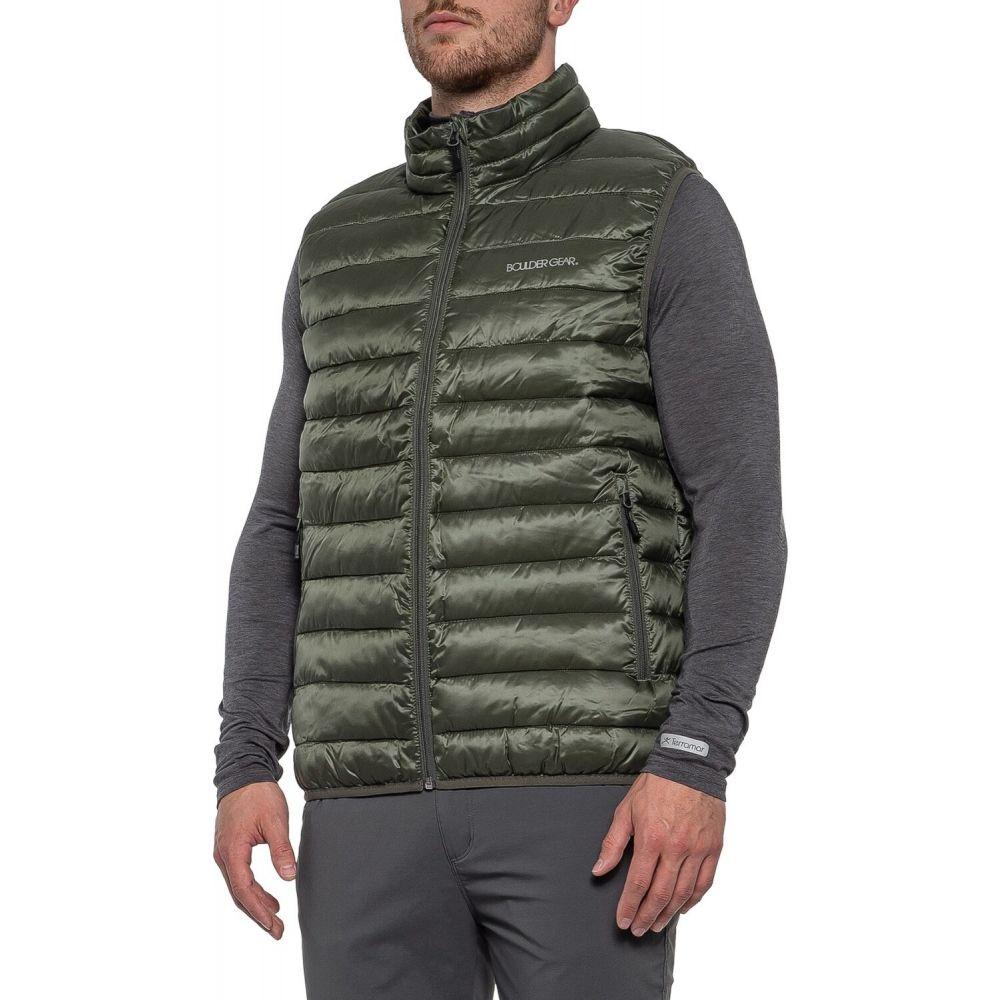 ボルダーギア Boulder Gear メンズ ベスト・ジレ トップス【All Day Puffer Vest - Insulated】Dark Olive
