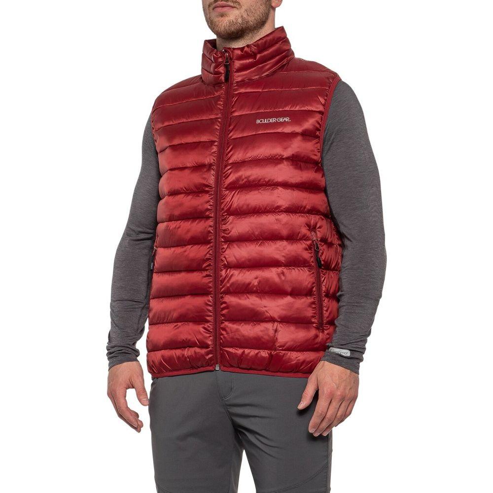 ボルダーギア Boulder Gear メンズ ベスト・ジレ トップス【All Day Puffer Vest - Insulated】Chili Pepper
